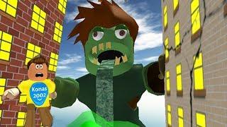 Roblox Escape The City Monster Obby !    Roblox Gameplay    Konas2002