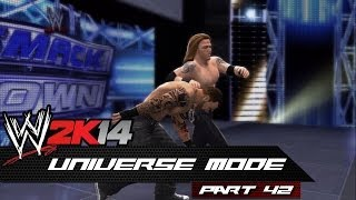 WWE 2K14: Universe Mode - Part 42 - MOST CONFUSING EPISODE!!