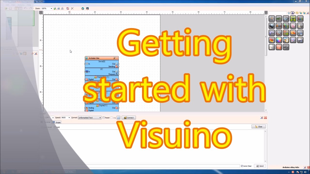 Visuino Visual Development For Arduino By Mitov Software Filegets Esketch Screenshot Electronic Circuit Simulator With Rapid