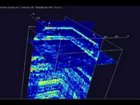 PanGeo Subsea Acoustic Corer™ Coreview 3D Technology