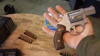 .357 Magnum for Hiking/Camping, .38 Special Snub nose Revolver for Concieled Carry.