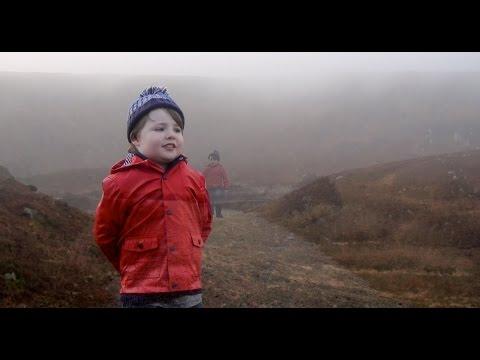 CHRISTIAN CAMPBELL AGED 5  WALKING IN THE AIR