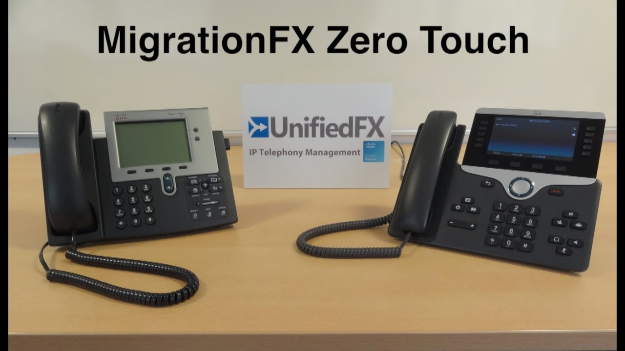 MigrationFX - Migrate Old Cisco Phone To Latest Technology