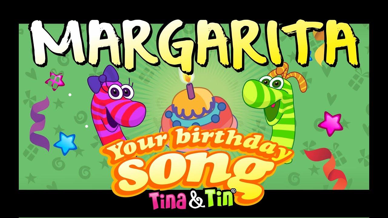 Tina&Tin Happy Birthday MARGARITA (Personalized Songs For