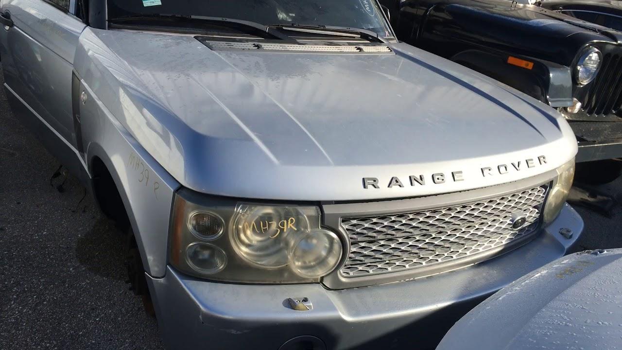 2007 Range Rover Passengers Door Glass Removal Youtube