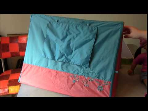 American Girl Review: MyAG Sunset Sleepover Tent