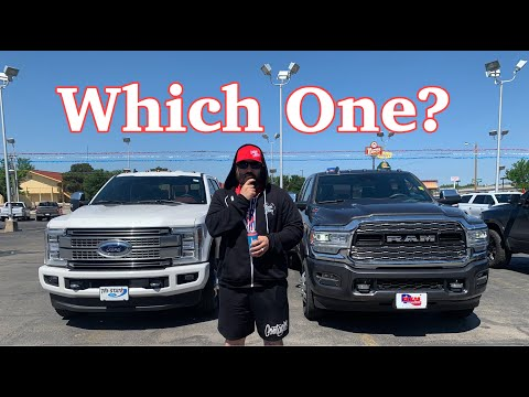 Help Me Decide. 2019 F350 Platinum V.S. 2019 Ram 3500 Limited... Which to buy?