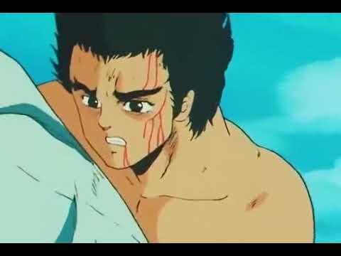 Hokuto no ken - Raoh and Toki (flashback)