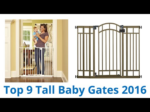9 Best Tall Baby Gates 2016