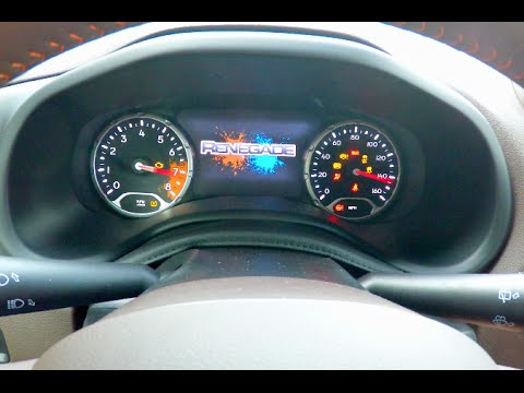 Jeep Renegade Limited >> 2015 Jeep Renegade MultiView™ Display Overview - YouTube