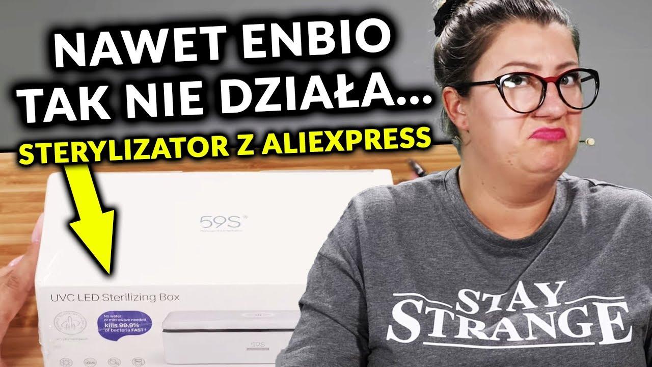 Unboxing STERYLIZATORA UV/LED z AliExpress | #01 | Quloo