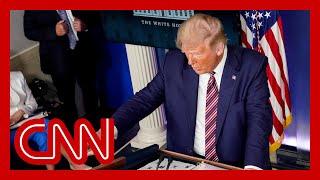 Trump announces plan to deploy 150 million Covid-19 rapid tests
