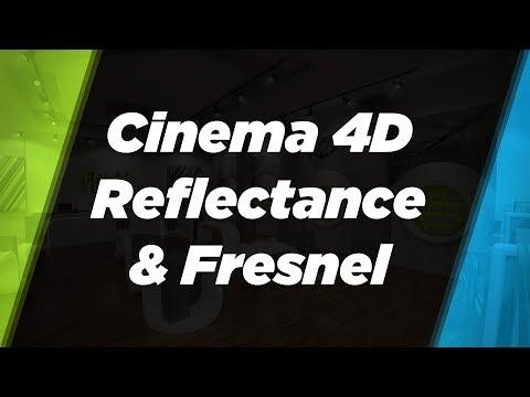 Cinema 4D Reflectance, fresnel and friends