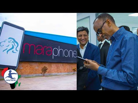 Rwanda Launches First-Ever 100% Made in Africa Smartphone Ca