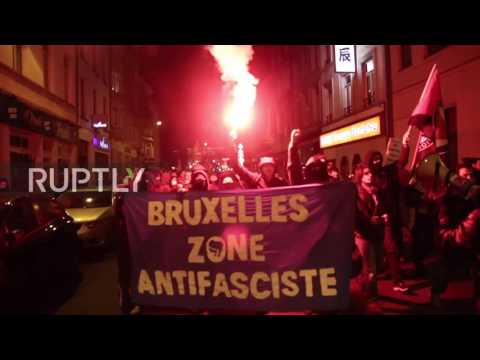 Belgium: Antifa pepper-sprayed as police protect Golden Dawn offices in Brussels