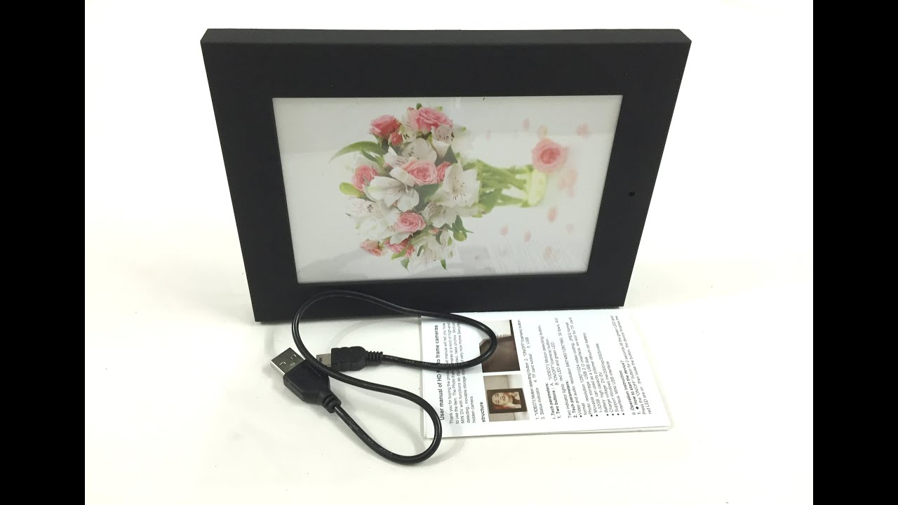 Photo Frame Hidden Camera Photo Frame Youtube Youtube