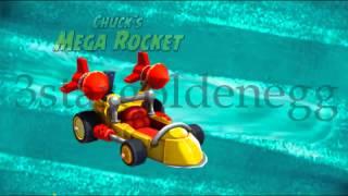Angry Birds GO! Character Chuck´s Mega Rocket Animation