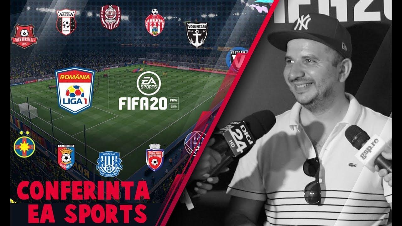 ANDI MOISESCU FAN FIFA 20 -  OVVY MI-A SCUIPAT SEMINTE IN CAP - CONFERINTA EA SPORTS