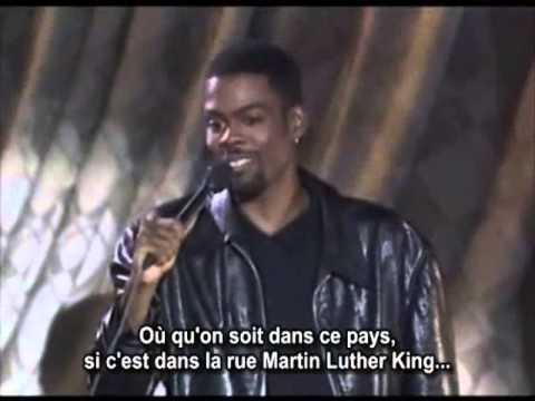 MARTIN LUTHER KING/SEX FRIENDS/AFRICA---------CHRIS ROCK