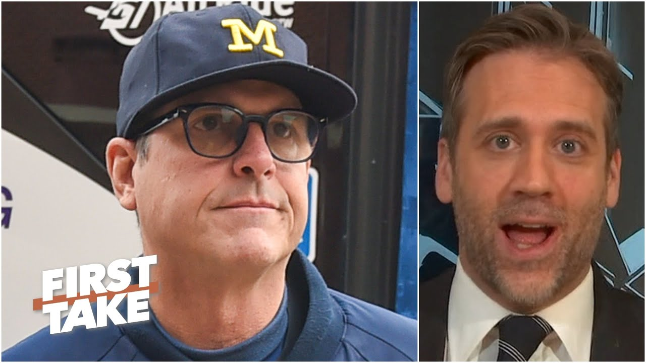 Jim Harbaugh is right about college eligibility for undrafted players - Max Kellerman | First Take