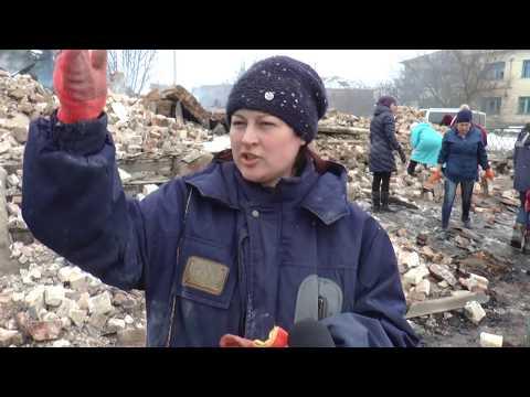 Телеканал Лтава: Згорілу будівлю Кротівщинської школи розбирають батьки та вчителі