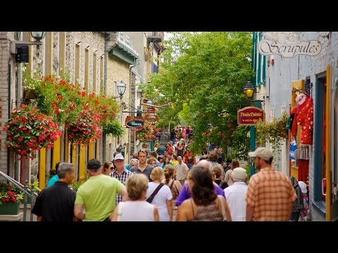 Quebec City in Canada Holiday Vacation Video - RMT