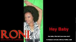 Hey Baby (Sample) - Roni Sexy Lady of Southern Soul
