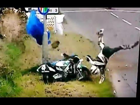 Robert Dunlop crash NW 200 1998