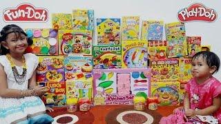 UNBOXING 28 BOX 💖 Lilin Mainan Warna - Warni Fun Doh 💖 Play Doh 💖 Jessica Jenica 💖