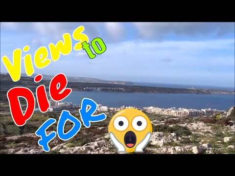 Mellieħa, Malta, Awesome trek to 3000bc caves & our lady grotto. ,