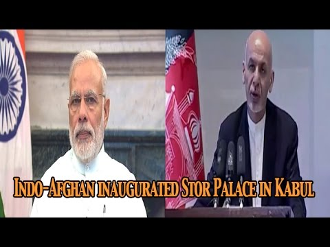 PM Modi and Afghan President jointly Inaugurates renovated Stor Palace, in Kabul : NewspointTV