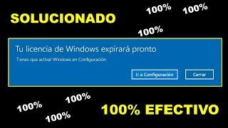 Solución tu licencia de Windows expirara pronto  2021