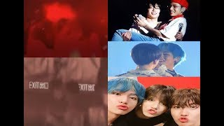 Did they really accidentally kiss or it was the angles? lol (Taekook kookvkook interaction analysis)