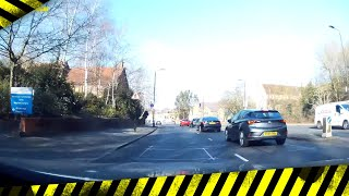 Stupid Driver Fail Mirror Signal Manoeuvre MSM