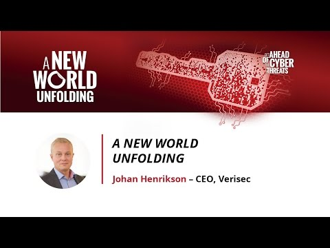 Johan Henrikson: A New World Unfolding - Stockholm 2016