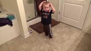 Jameson dancing