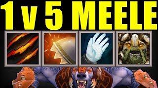 4x Passive Immortal Build Vs 5 Melee | Dota 2 Ability Draft