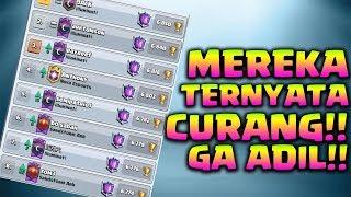 TROPHY TERTINGGI SEJARAH CR CURANG + GA ADIL!! - Clash Royale Indonesia