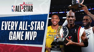 Every NBA All-Star Game MVP In League History 👀 | 2021 #NBAAllStar