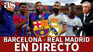 BARCELONA 1 REAL MADRID 2 EN DIRECTO| Reacciones l CLÁSICO I Diario AS