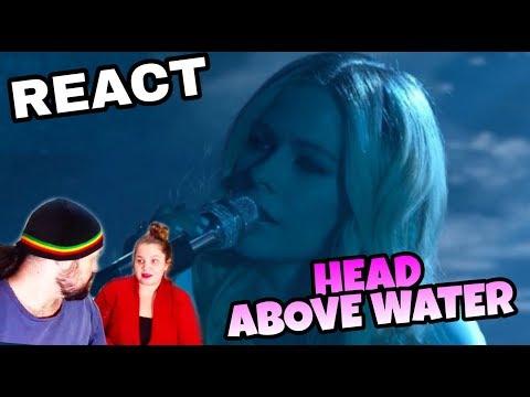REAGINDO: AVRIL LAVIGNE - HEAD ABOVE WATER (LIVE JIMMY KIMMEL REACT)