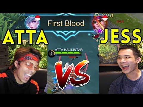 ATTA VS JESS NO LIMIT - Menang 2X Sama TOP GLOBAL!!