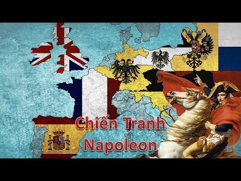 Tóm Tắt Nhanh Chiến tranh Napoleon / Napoleonic Wars