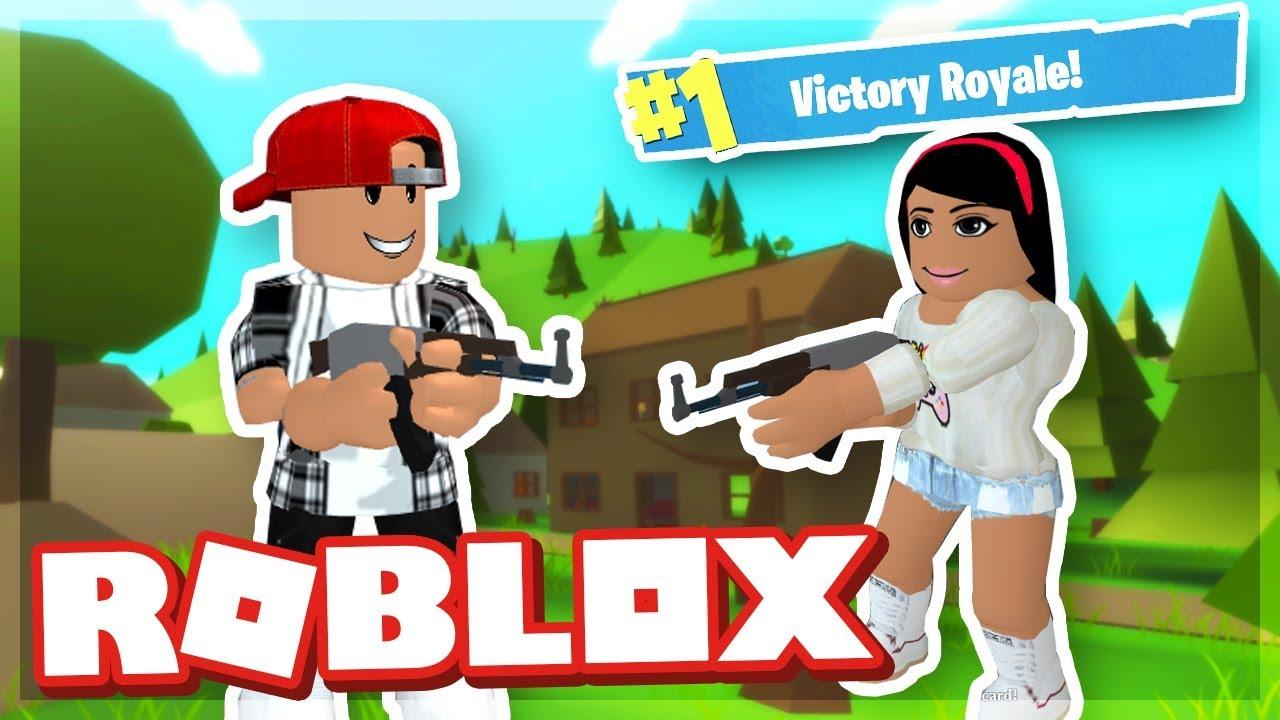 Fortnite In Roblox Island Royale Roblox Youtube