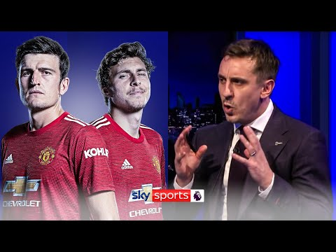 'They're not dominant!'   Gary Neville analyses Maguire and Lindelöf's centre-back partnership