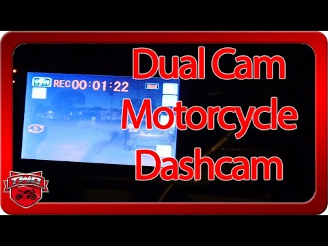 Sykik Rider X21F Motorcycle Dashcam Dual Camera System Review