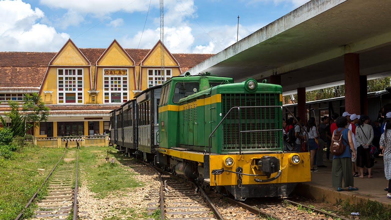 Kết quả hình ảnh cho Ga xe lửa Đà Lạt