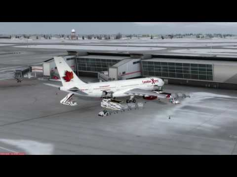 Airbus A330-200 RR Montreal (CYUL) to Puerto Plata (MDPP) P3D v3.4