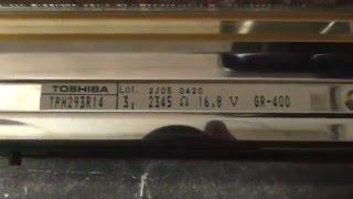 видео Печатающие термоголовки