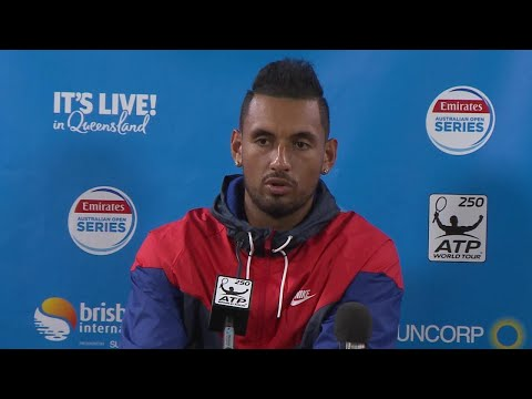 Nick Kyrgios Pre-Tournament PC | Brisbane International 2018